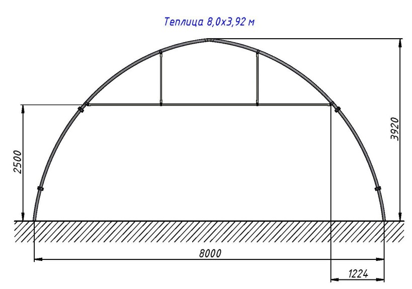 Для изготовления арки